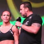Cris Cyborg with Big John, Bellator 238