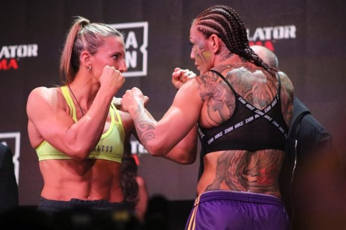 Julia Budd and Cris Cyborg, Bellator 238 Face-Off