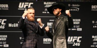 Conor McGregor and Donald Cerrone, UFC 246