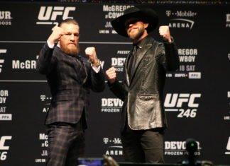 Conor McGregor and Donald Cerrone, UFC 246
