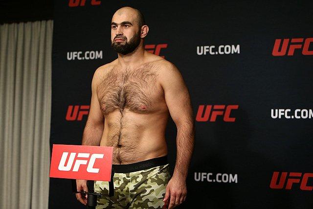 Shamil Abdurakhimov UFC