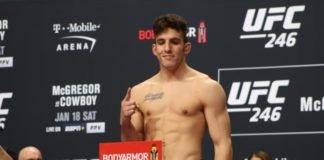 Aleksa Camur, UFC