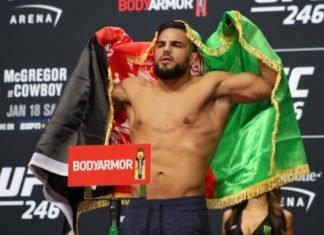 Nasrat Haqparast UFC