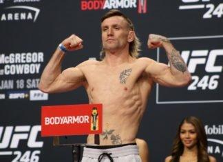 Tim Elliott, UFC