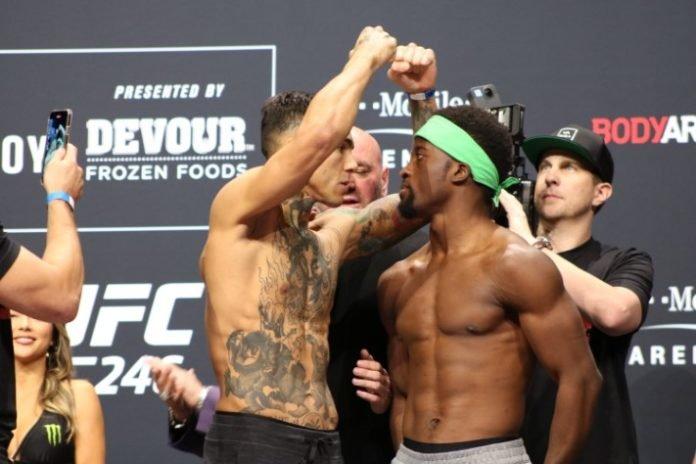 Andre Fili vs. Sodiq Yusuff, UFC 246