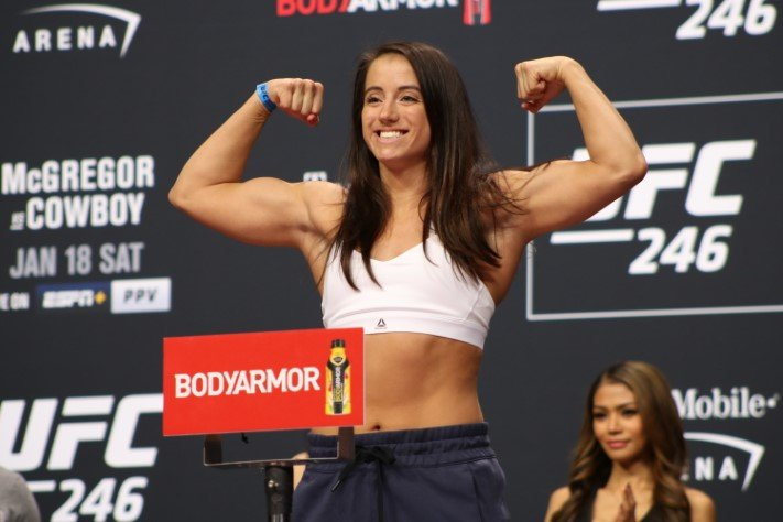 Maycee Barber Vs Alexa Grasso Booked For Ufc 258