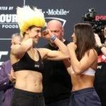 Roxanne Modadderi vs. Maycee Barber, UFC 246