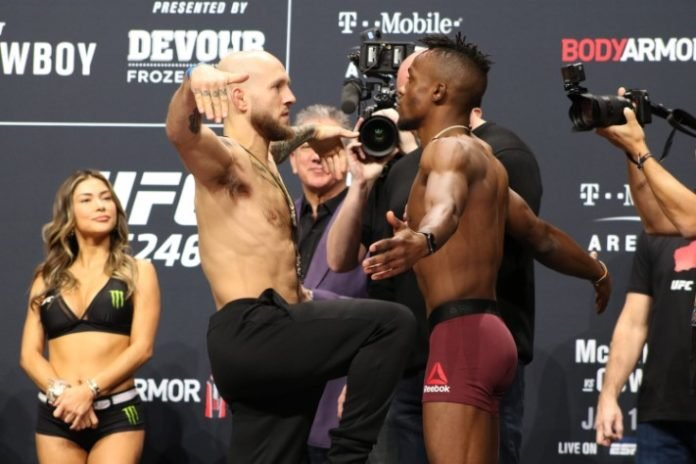 Brian Kelleher vs. Ode Osbourne, UFC 246