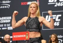 Holly Holm, UFC