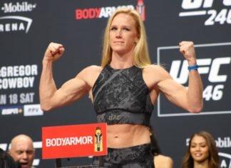Holly Holm, UFC Fight Island 4