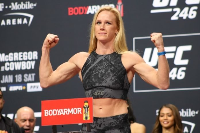Holly Holm, UFC Fight Island 4