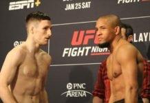Brett Johns and Tony Gravely, UFC Raleigh