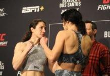 Sara McMann vs. Lina Lansberg, UFC Raleigh