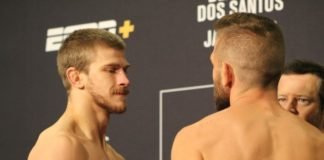 Arnold Allen vs. Nik Lentz, UFC Raleigh