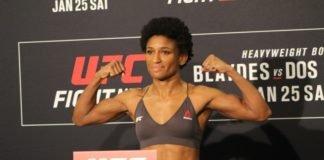 Angela Hill, UFC Raleigh