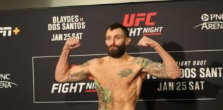 Michael Chiesa, UFC Raleigh