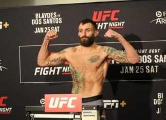 Michael Chiesa, UFC Raleigh