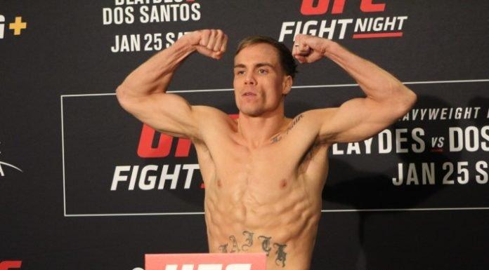 Nate Landwehr UFC