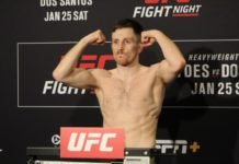 Brett Johns, UFC Raleigh