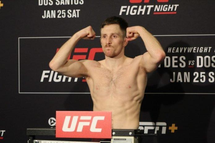 Brett Johns, UFC Raleigh