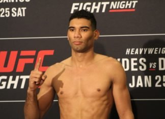 Herbert Burns, UFC Raleigh