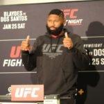 Curtis Blaydes, UFC Raleigh