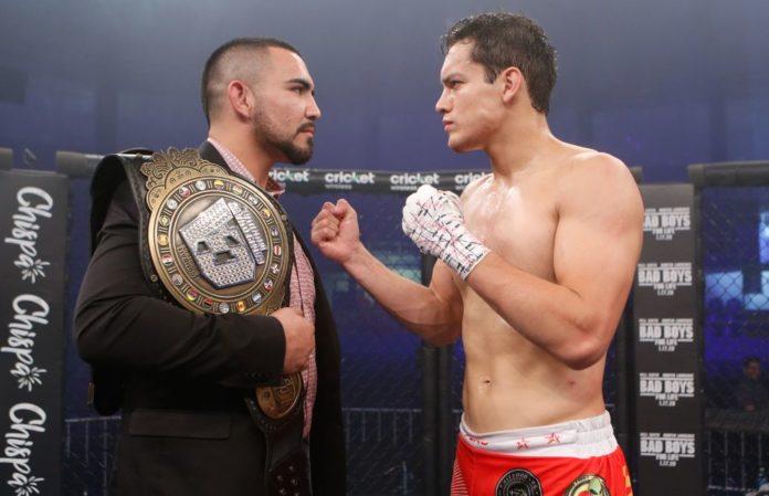 Rafa Garcia faces off with Humberto Bandenay