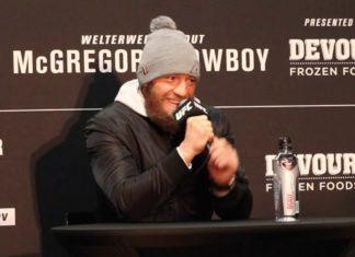Conor McGregor ahead of UFC 246