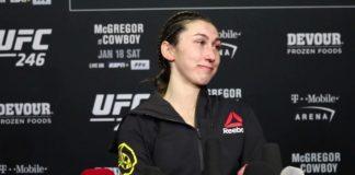 Sabina Mazo UFC 246