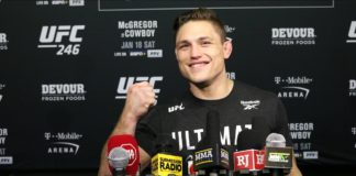 Drew Dober UFC 246 post-fight