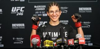 Roxanne Modafferi UFC 246