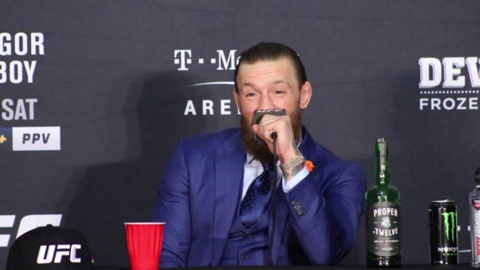 Conor McGregor UFC 246