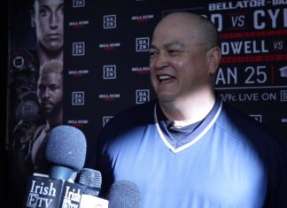 Scott Coker Bellator 238 press scrum