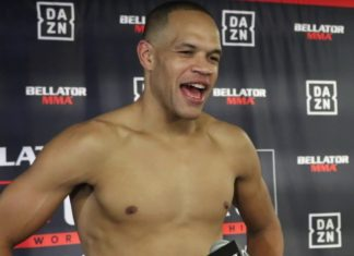 Raymond Daniels Bellator 238 post-fight