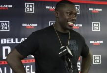 Curtis Millender Bellator 238 post-fight