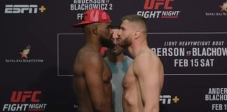 Corey Anderson and Jan Blachowicz, UFC Rio Rancho