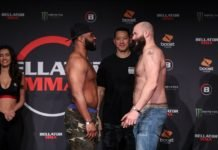 Tyrell Fortune and Tim Johnson Bellator 239