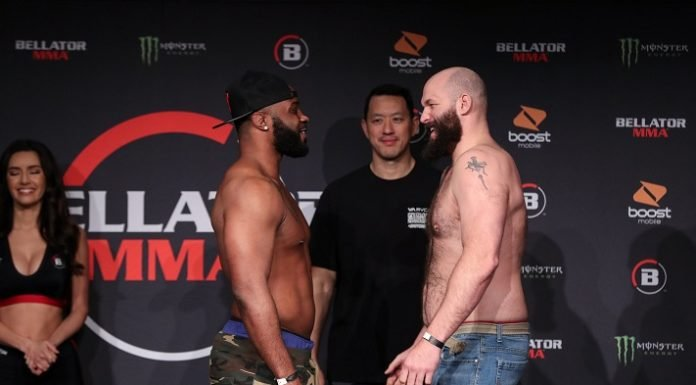 Tyrell Fortune and Tim Johnson Bellator 239