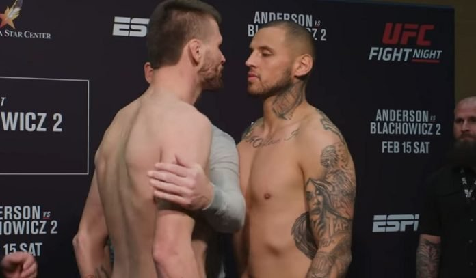 Tim Means and Daniel Rodriguez, UFC Rio Rancho