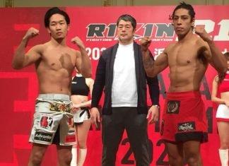 Mikuru Asakura and Daniel Salas, RIZIN 21 Weigh-In