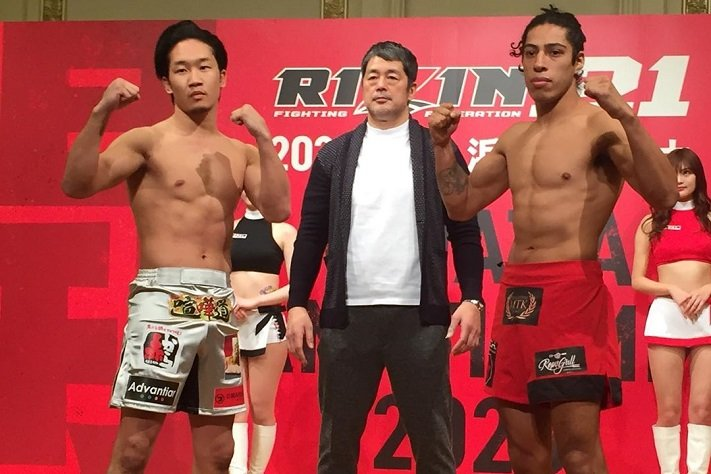 RIZIN 21 Weigh-In Results: Full Card Makes Weight