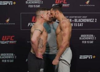 Diego Sanchez and Michel Pereira, UFC Rio Rancho