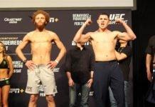 Luis Pena and Steve Garcia, UFC Norfolk