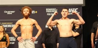 Luis Pena and Steve Garcia, UFC Norfolk