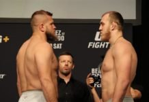 Marcin Tybura and Sergey Spivak, UFC Norfolk