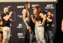 Megan Anderson and Norma Dumont, UFC Norfolk
