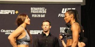 Felicia Spencer and Zarah Fairn, UFC Norfolk
