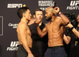 Joseph Benavidez and Deiveson Figueiredo, UFC Norfolk