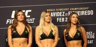 UFC octagon girls