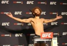 Luis Pena aka Violent Bob Ross, UFC